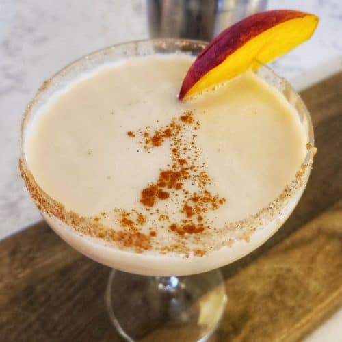 Peach Cobbler Martini