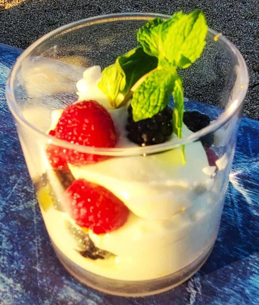 fat-free lemon pudding parfait | Eat. Drink. Work. Play.