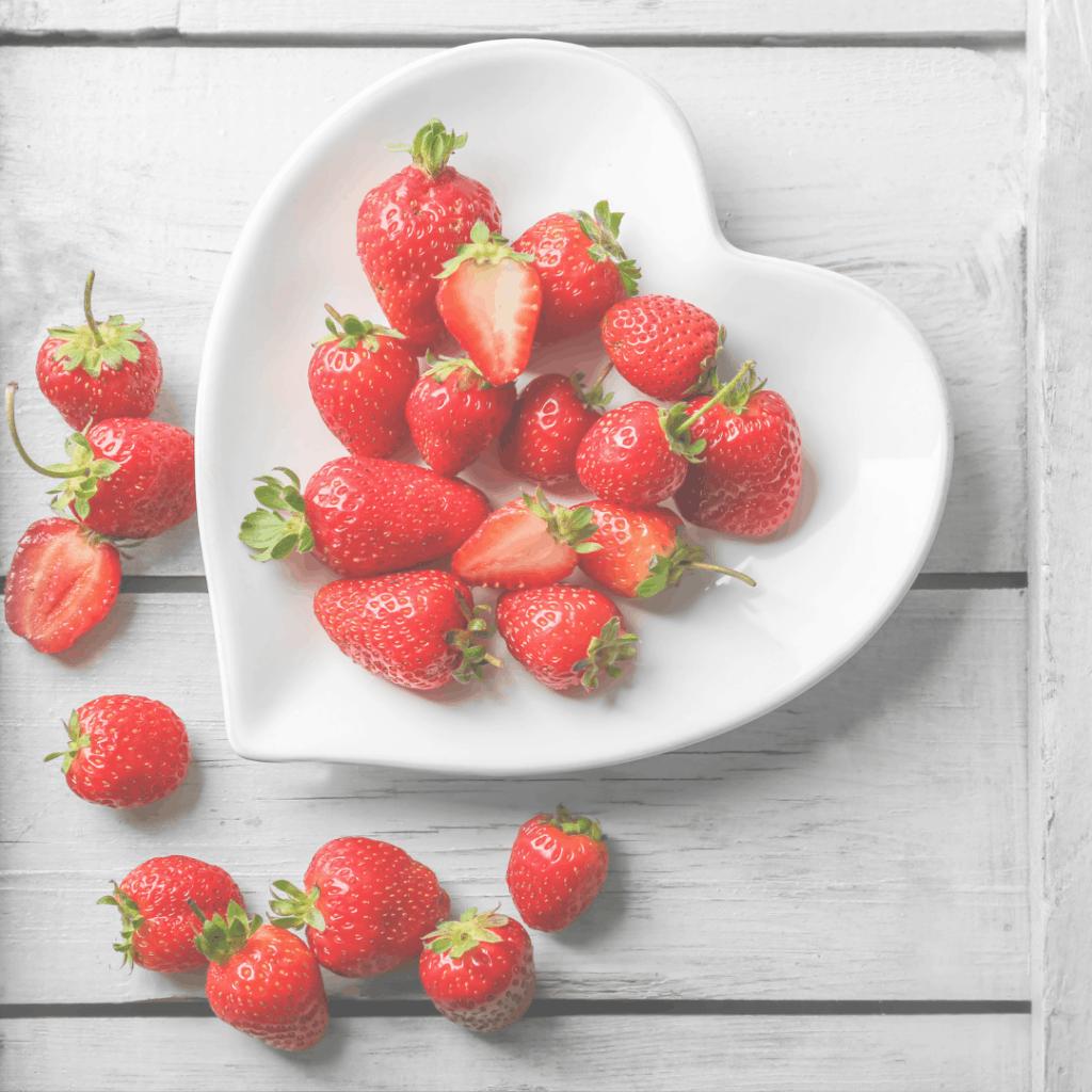 fresh strawberries | Eat. Drink. Work. Play.
