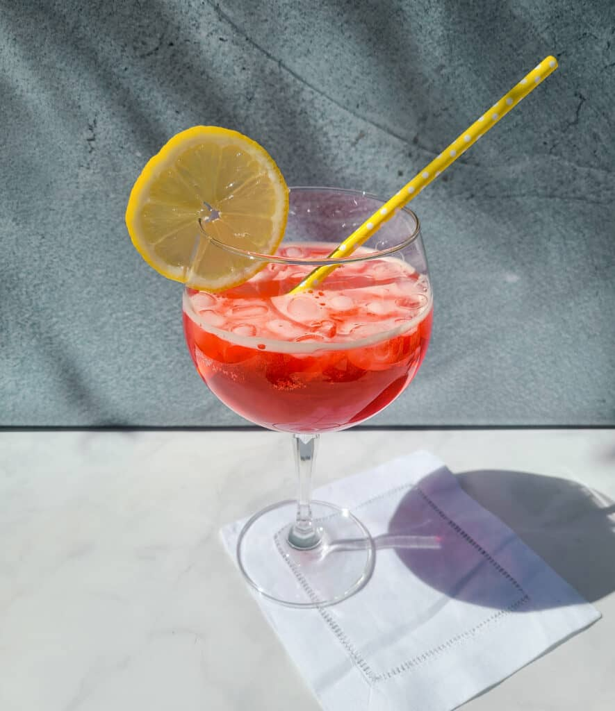 campari spritz | a 10-course easter feast to impress | Eat. Drink. Work. Play.