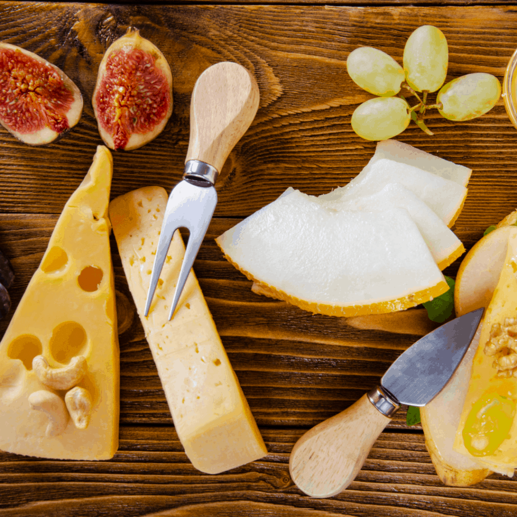 italian cheese and fruit | a 10-course Italian Easter Feast to Impress | Eat. Drink. Work. Play.