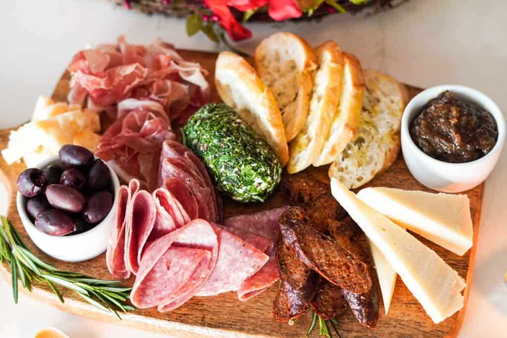 italian charcuterie | a 10-course Easter Feast to Impress | Eat. Drink. Work. Play.