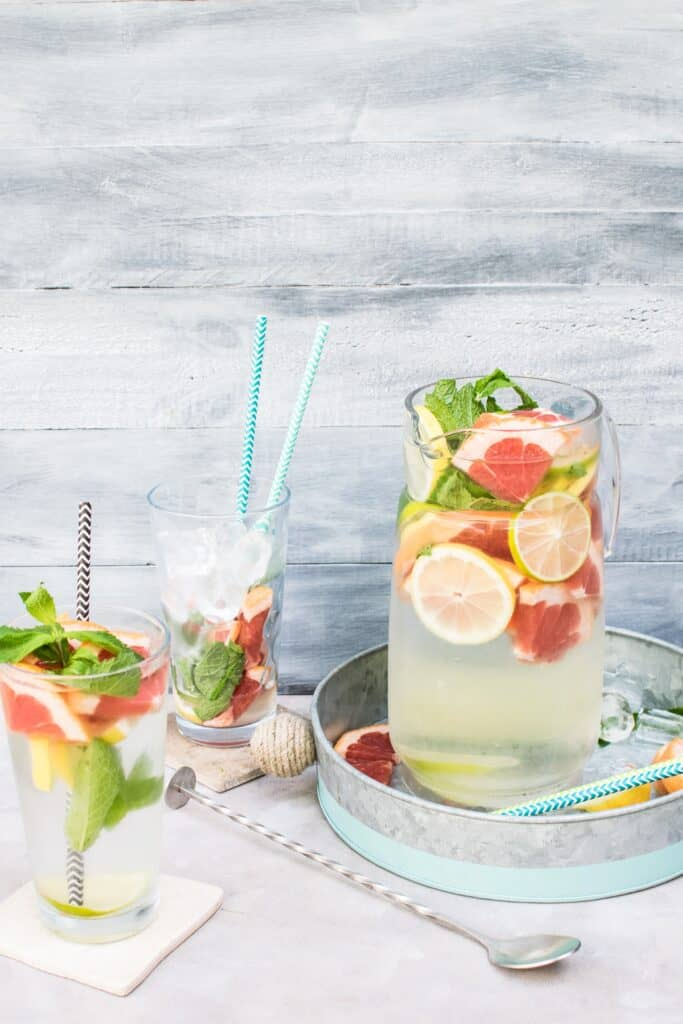 infused water with fruit | drinking a life explored | Eat. Drink. Work. Play.