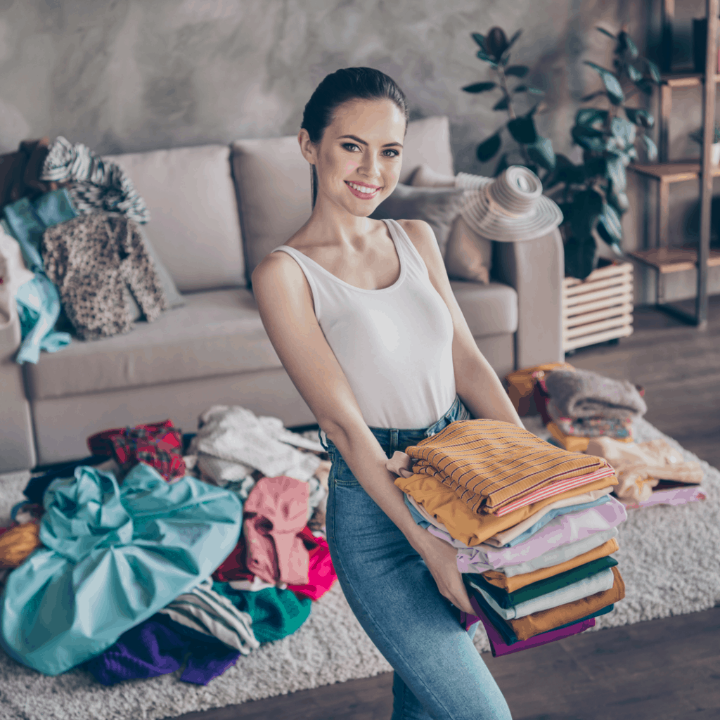 reorganizing the closet | spring cleaning | ways to add more play into your life this spring | Eat. Drink. Work. Play.